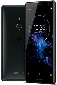 The Xperia XZ2 is the first Sony smartphone without a headphone jack. (Source: Sony)
