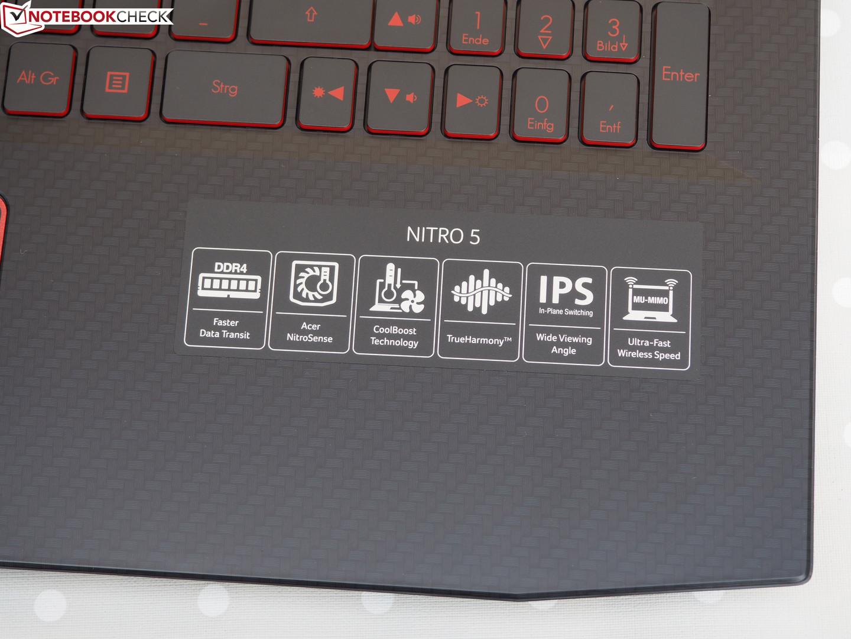 Acer Nitro 5 (i7-8750H, GTX 1050 Ti, FHD) Laptop Review