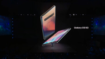 The S10 5G in more of its glory. (Source: Samsung)