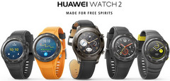 Huawei Watch 2 and Watch 2 Classic smartwatches with Android Wear 2.0 and Qualcomm processor