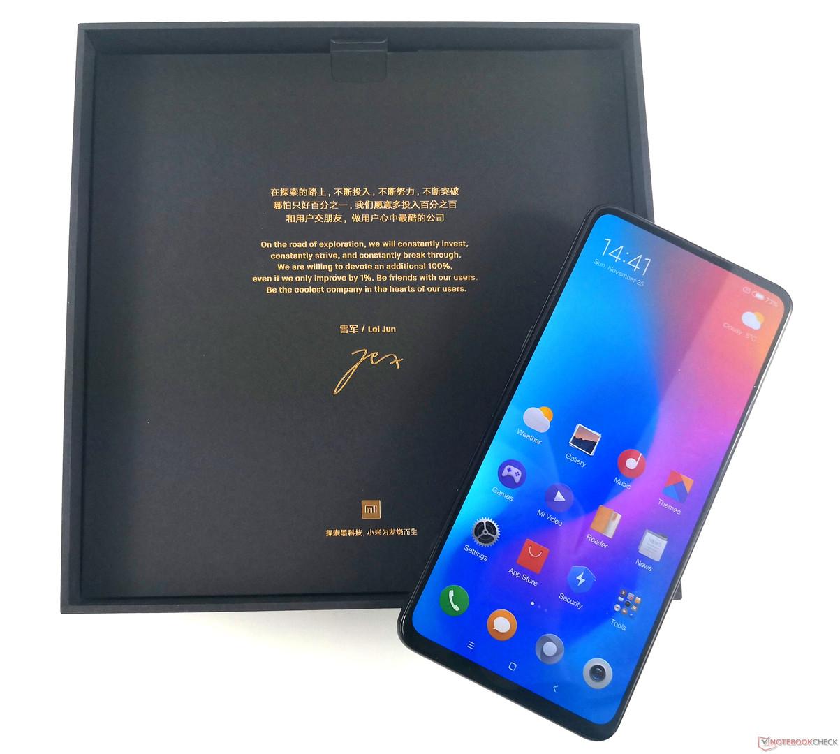 Xiaomi Mi Mix 3 Smartphone Review Notebookcheck Net Reviews
