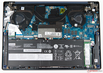 A look at the inside of the IdeaPad S540-13IWL