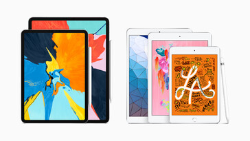 Complete iPad lineup as of March 2019 (Source: Apple Newsroom)