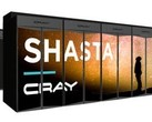 DOE's Perlmutter supercomputer will use Cray's Shasta infrastructure that combines CPU nodes with GPU nodes. (Source: Cray)
