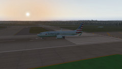 XPlane 11 Boeing 737-800 day. (Source: Own)