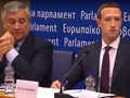 Mark Zuckerberg consented to facing the European Parliament in May 2018. (Source: CNBC/Gizmodo)