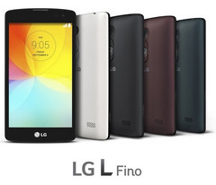 LG L Fino Android KitKat smartphone with quad-core processor