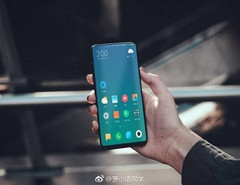 The first live shot of the Xiaomi Mi MIX 2 has surfaced. (Source: Playful Android)