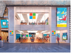 Only 4 of Microsoft's 116 physical stores will remain open. (Image source: Business Insider)