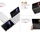 The One Mix 3s Platinum Edition will cost more than US$1,000. (Image source: One Netbook)