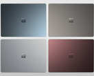 The Surface Laptop is now available in all four launch colors in 20 countries. (Source: Micrsofo