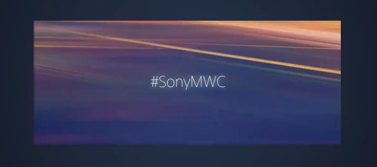 The Sony MWC19 teaser hints at the 21:9 screen ratio. (Source: Twitter/Sony)