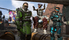 Apex Legends is still a long way from challenging Fortnite and PUBG. (Source: Electronic Arts)