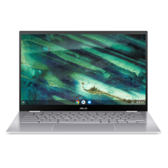 The Asus Chromebook Flip C436 is a Project Athena-certified Chromebook. (Source: Asus)