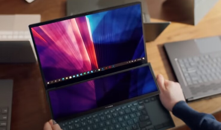 An Intel-powered laptop can give Justin intangible thumbs - the MacBook can't do that. (Image source: YouTube/Intel)
