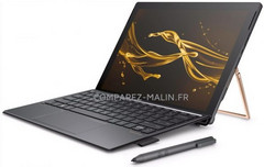 HP Spectre X2 12 (2017) Windows convertible tablet with Kaby Lake processor and Intel Iris Plus 640 graphics