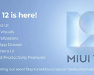 Xiaomi has officially announced MIUI 12 in India, for some reason. (Image source: Xiaomi)