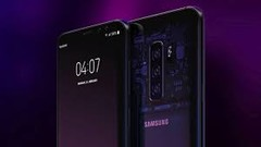 A Galaxy S10 render. (Source: T3)