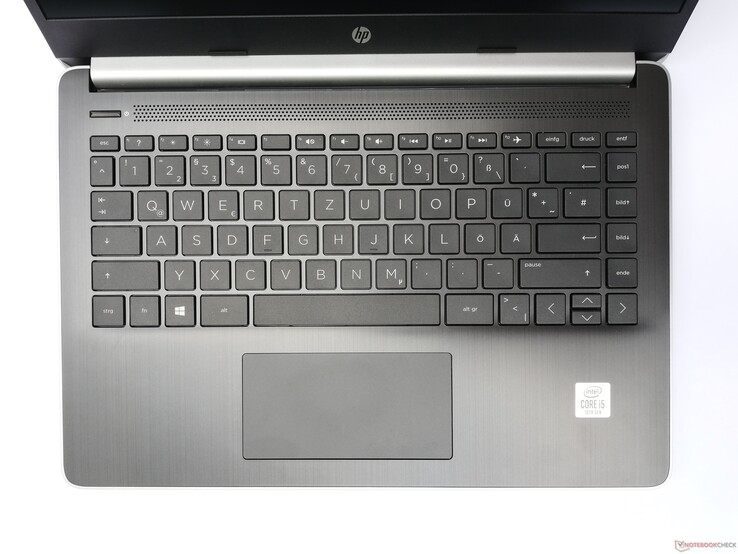 HP 14s-dq1431ng - input devices