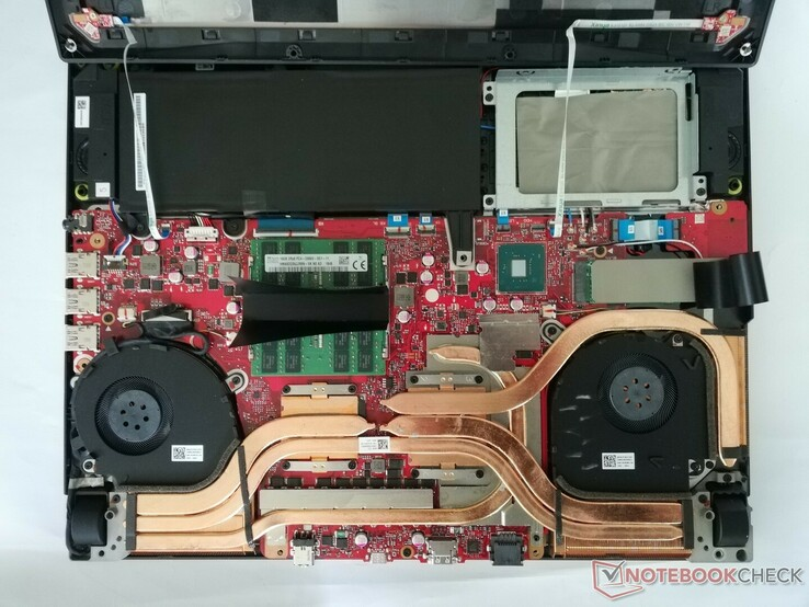 A look at the inside of the ROG Strix SCAR III