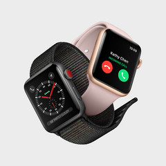 The Apple Watch 3 with LTE functionality. (Source: Apple)