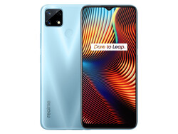 On review: realme 7i. Test device provided by realme Germany.