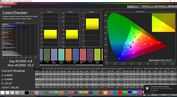 CalMAN ColorChecker - Vivid
