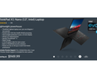 Deal | Clearance discount brings the featherweight Lenovo ThinkPad X1 Nano below the $1,000 mark