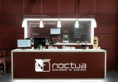 The Noctua booth at Computex 2019. (Source: Noctua)