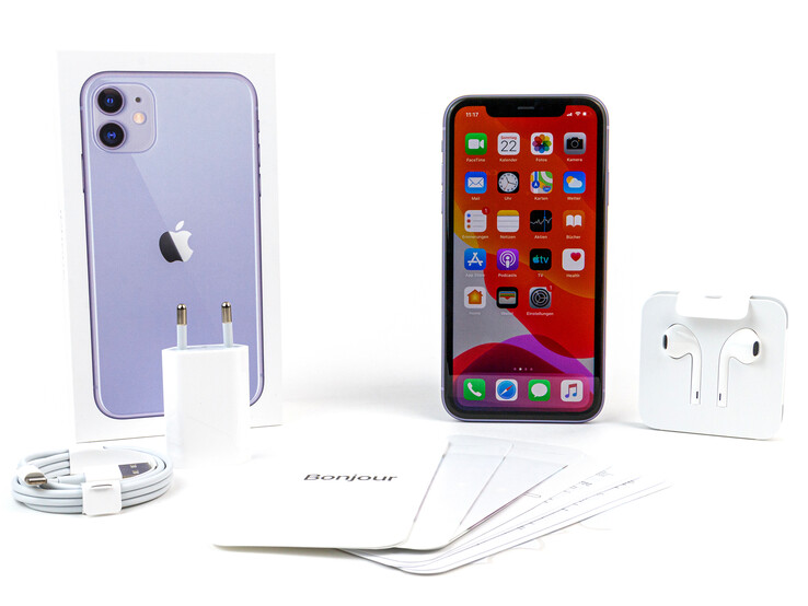 The iPhone 11 and its bundled accessories