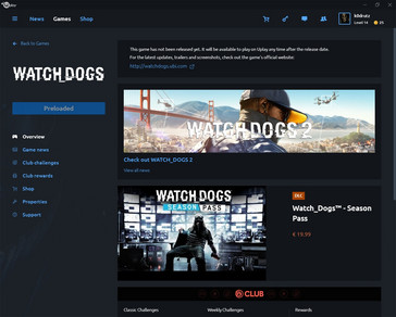 Watch Dogs for free preloaded in Uplay (Source: own)