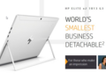 HP claims that the Elite x2 1013 G3 is the world's smallest business detachable. (Source: HP)