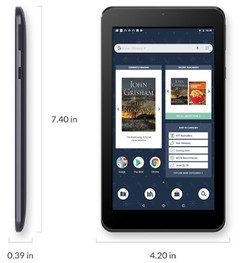 Barnes & Noble NOOK Tablet 2018 Edition (Source: Barnes & Noble)