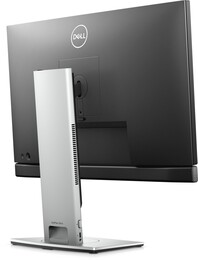 The Dell OptiPlex 3090 Ultra can be easily hidden in a monitor stand. (Image Source: Dell)
