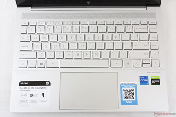 identical keyboard and clickpad to the Envy 15