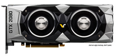 The NVIDIA GTX 2080 Founders Edition might sport a dual-fan cooler. (Source: Videocardz)