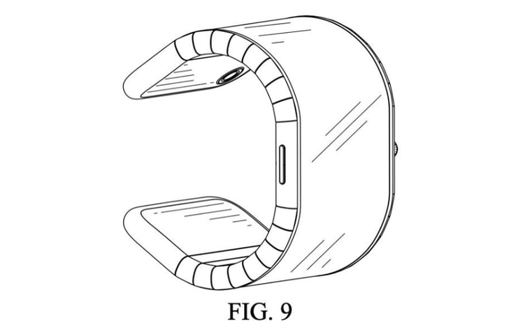 One of the patent drawings filed by TCL. (Source: CNET)