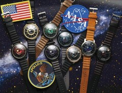 Xeric Trappist-1 NASA Edition collection (Source: Xeric on Kickstarter)