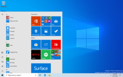 The simplified Start menu in all its glory. (Image source: Microsoft)