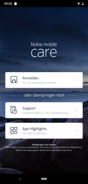 Nokia mobile Care app
