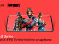 Some OnePlus phones can now play Fortnite at 90fps. (Source: OnePlus)
