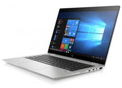 HP EliteBook x360 1030 G3 with a very bright display