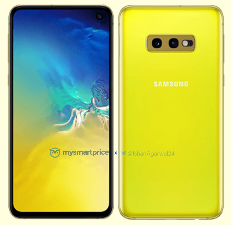 The Samsung Galaxy S10e in all its Canary Yellow glory. (Source: Ishan Agarwal/MySmartPrice)