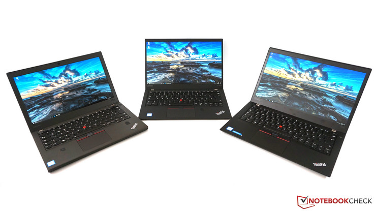 ThinkPad X270 vs. ThinkPad X1 Carbon 2017 vs. ThinkPad T470s