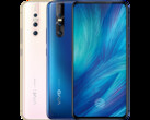 The Vivo X27 has a Nex S-esque selfie camera. (Source: Vivo)