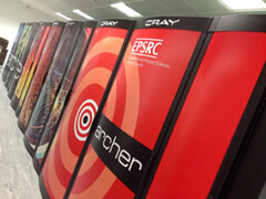 The ARCHER supercomputer currently housed by the University of Edinburgh was implemented by Cray back in 2013. (Source: HPCWire)