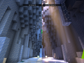 A Minecraft scene with and without ray tracing. (Source: NVIDIA)