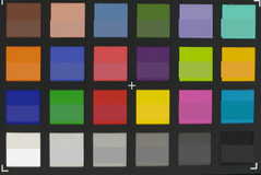 ColorChecker: main lens (f/2.4)