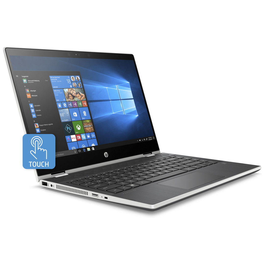 HP Pavilion x360 (Core i3-8130U, 256-GB-SSD) Convertible ...