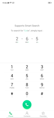Dialer and Contacts app